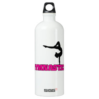 Gymnastics Design Aluminum Water Bottle