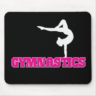 Gymnastics Design Mouse Pad