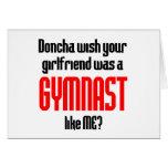 Gymnastics Doncha Greeting Card