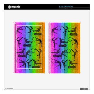 GYMNASTICS eReader Skin Kindle Fire Skin