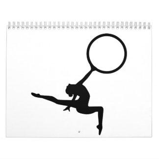 Gymnastics floor exercise calendar