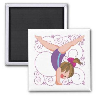 Gymnastics Gift Magnet