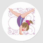 Gymnastics Gift Stickers