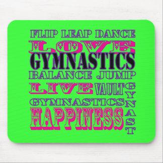 Gymnastics Gifts for Gymnasts Mousepad