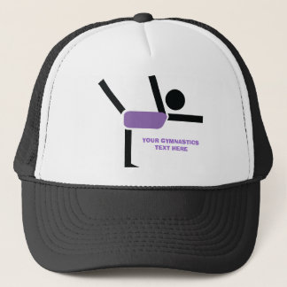 Gymnastics gifts, gymnastics performer custom trucker hat