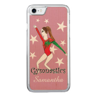 Gymnastics girl carved iPhone 8/7 case