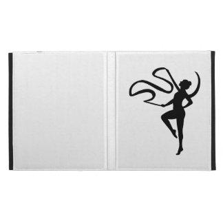 Gymnastics girl iPad folio cases