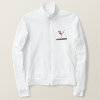 Gymnastics Girl Embroidered Jacket