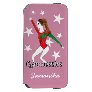 Gymnastics girl iPhone 6/6s wallet case