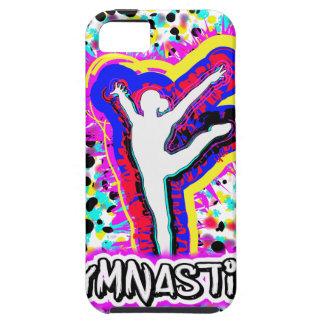 Gymnastics Grafitti Custom Art Girls iPhone SE/5/5s Case