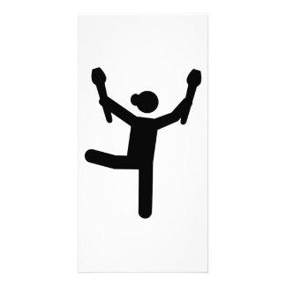 Gymnastics gymnast card