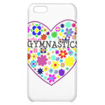 Gymnastics Heart with Flowers Case For iPhone 5C