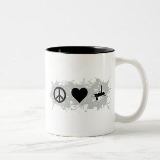 Gymnastics (High jump) Two-Tone Coffee Mug
