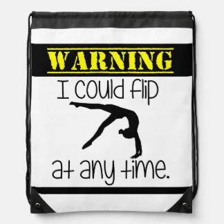 Gymnastics I Could Flip At Anytime Backpack