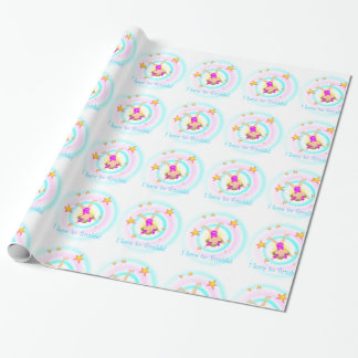 Gymnastics - I Love to Tumble Wrapping Paper