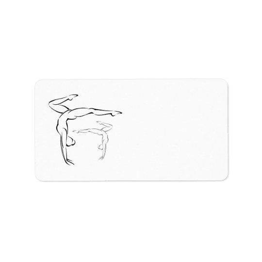 Gymnastics II Label