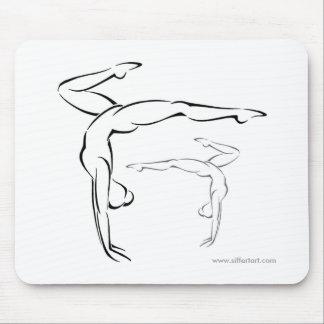 Gymnastics II Mouse Pad