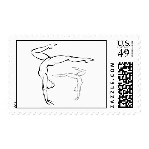 Gymnastics II Stamps