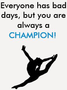 9c19bcd474 Gymnastics inspirational quote t-shirt