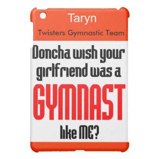 Gymnastics iPad case Doncha personalize