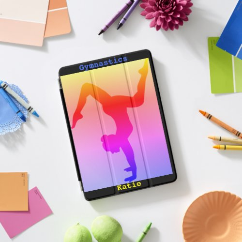 Gymnastics iPad Smart Cover w/ Her Name!