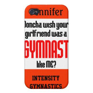 Gymnastics iPhone 4 Case Doncha personalize