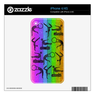 GYMNASTICS iPhone Skin Decal For iPhone 4