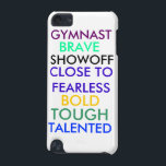 "Gymnastics ipod 5th gen case<br><div class=""desc"">This is special to me because I do gymnastics and I have done it for 8 years and I really enjoy the sport and I am pretty good at it too.</div>"