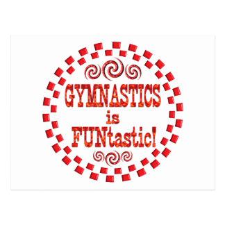 Gymnastics is FUNtastic Postcard