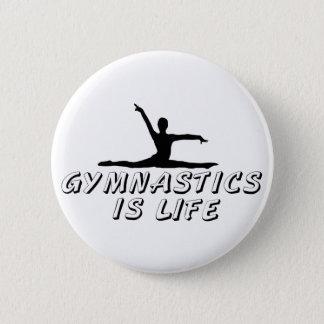 Gymnastics is Life Button
