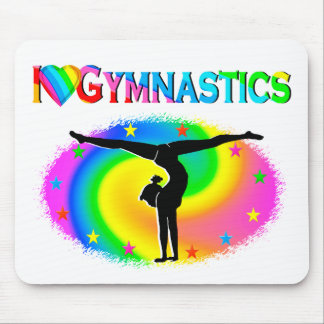 GYMNASTICS IS MY LIFE MOUSE PAD