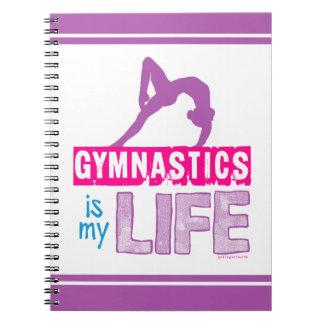Gymnastics Is My Life Notebook