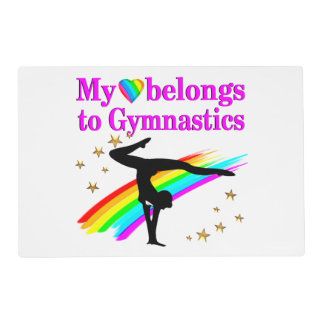 GYMNASTICS IS MY LIFE PLACEMAT
