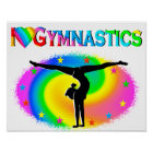GYMNASTICS IS MY LIFE POSTER