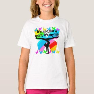 GYMNASTICS IS MY LIFE RAINBOW DESIGN T-Shirt