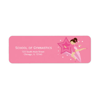 Gymnastics Custom Return Address Labels