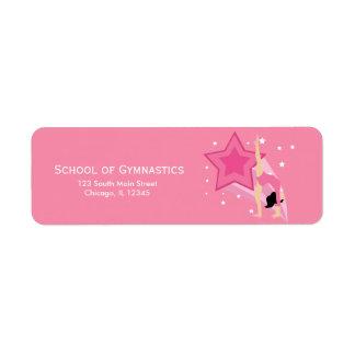 Gymnastics Label