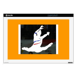 gymnastics laptop skins