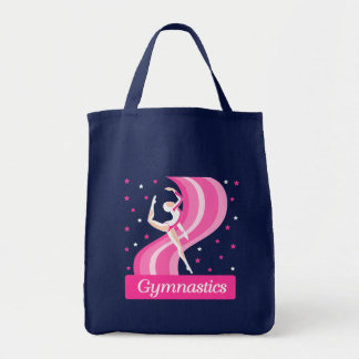 Gymnastics Leap Tote Bag