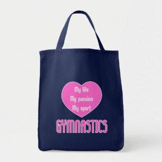 Gymnastics Life Passion Sport Tote Bag