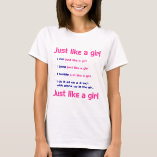 Gymnastics Like a Girl T-Shirt