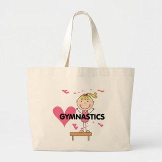 GYMNASTICS - Love Gymnastics Tshirts and Gifts Large Tote Bag