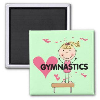 GYMNASTICS - Love Gymnastics Tshirts and Gifts Magnet