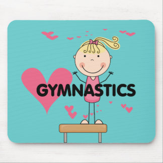 GYMNASTICS - Love Gymnastics Tshirts and Gifts Mouse Pad