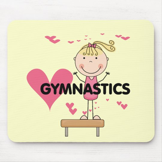 GYMNASTICS - Love Gymnastics Tshirts and Gifts Mouse Pad