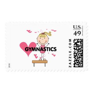 GYMNASTICS - Love Gymnastics Tshirts and Gifts Postage Stamps