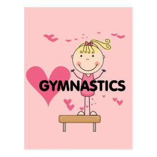 GYMNASTICS - Love Gymnastics Tshirts and Gifts Post Card