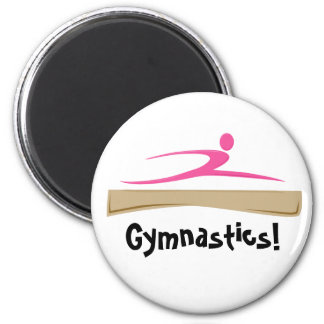 Gymnastics! Magnet
