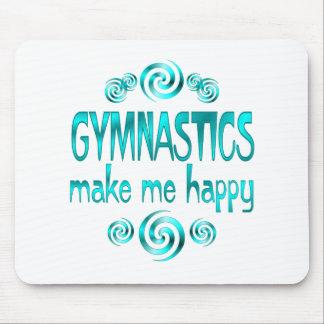 Gymnastics Make Me Happy Mouse Pad