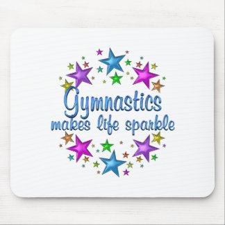 Gymnastics Makes Life Sparkle Mouse Pad
